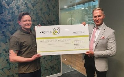 VS Group Make Quarterly Donation to Forever Manchester